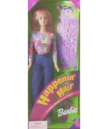 Barbie HAPPENIN' HAIR BARBIE Doll Blond 2000 - $23.75