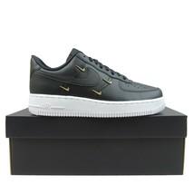 Nike Air Force 1 '07 LX Womens Sisterhood Size 9 Black Gold NEW CT1990-001 - $118.75
