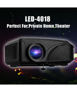 Excelvan LED-4018 Portable 1200 Lumens 800*480 Support 720P 1080P Max 13... - $197.99