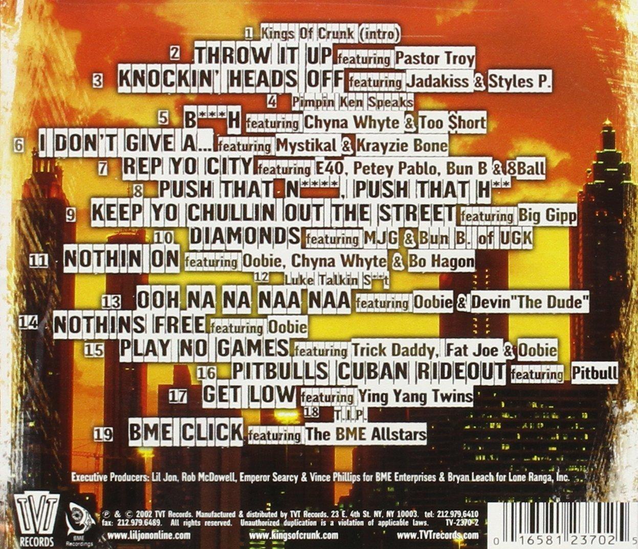 Kings of Crunk Lil Jon & The East Side Boyz Lil Jon