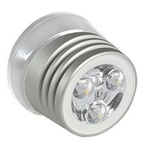 Lumitec Zephyr LED Spreader/Deck Light - Brushed White Base - White Non-Dimmi... - $156.74
