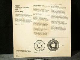 Kodak Pocket Carousel 120 Slide Tray AA-192041 Vintage image 5