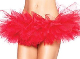 NEW LEG AVENUE WOMEN'S SEXY TUTU BALLET DANCE SKIRT A7105 ONE SIZE RED