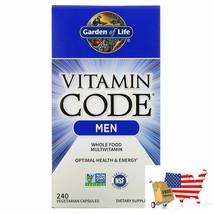 Garden of Life, Vitamin Code, Whole Food Multivitamin for Men, 240 Vegetarian Ca - $94.02