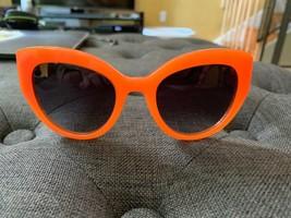 DOLCE & GABBANA Sicilian Carreto 4278 Orange White Brown Wood Sunglasses DG4278 - $175.52
