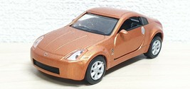 1/57 Konami J Owner's Collection NISSAN FAIRLADY Z 350z ORANGE diecast car - $19.59