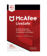 MCAFEE LIVESAFE 2020 - 4 Year UNLIMITED DEVICES - Windows Mac - DOWNLOAD... - $26.49