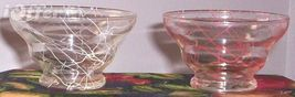 1960'S Retro Anchor HOCKING/DRIZZLE String Fruit Bowls - $9.95