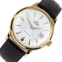 ORIENT BAMBINO FAC00003W  automatic men's watch white dial 40.5mm leather strap - $149.00