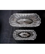 Duncan Miller Mardi Gras 2 Oval Cupped Bowls - Excellent and Beautiful - $14.00