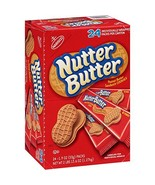 Nabisco Nutter Butter Sandwich Cookies, Peanut, 24 Count by K2 Valley Inc - $23.97
