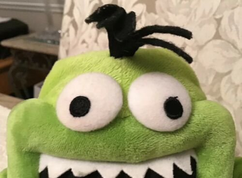 Hallmark MICROPHONE MIKE Monster Voice Recorder Plush Doll Toy - KID3119
