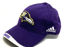 Baltimore Ravens Vintage NFL Team Color Logo Hat (New) By Adidas - $27.99