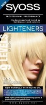 13-0 Syoss Ultra Lightener without brassy tones, formula with nutri-oil - $13.75