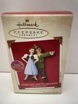 New 2002 Hallmark Keepsake Dorothy Scarecrow The Wizard Of Oz Christmas Ornament - $12.82
