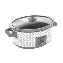 Slow Cooker 7Quart Large Crock Pot Oval  Food Soup Cooking w/ Lid Holder... - $1.004,51 MXN