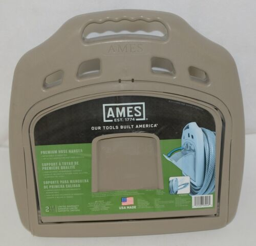 Ames 2382561 Premium Hose Hanger Holds 50 To 150 Feet Detachable Storage Bin
