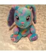 Build a bear bunny rabbit floppy ears mini rainbow multicolor 7 inch  - $12.99