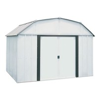 Storage Shed Steel Building 10 x 8 Sliding Lockable Double Door Outdoor ... - $520.72