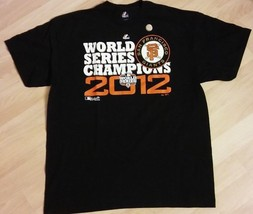 San Francisco Giants Tee - 2012 Baseball World Series Champions T Shirt ... - $39.59