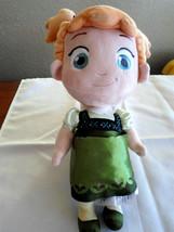 Disney Store Frozen Anna Plush Toddler Doll - $9.99