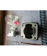 Motorcycle Cylinder Head Stamped 92-01-03 Complete with piston, pin, rings  - $158.39