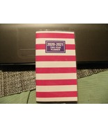 5#P    2020-2021 Beautiful Red & White 2 Year  Pocket Planner Calendar 6... - $4.94