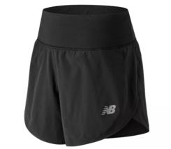 "New Balance Impact 5"" Size XL Extra Large Women's Running Shorts Black WS81264"