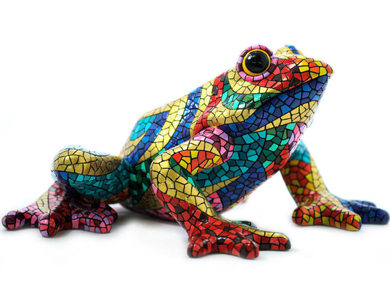 Primary image for Barcino Designs Carnival Frog Mosaic New brand from Spain