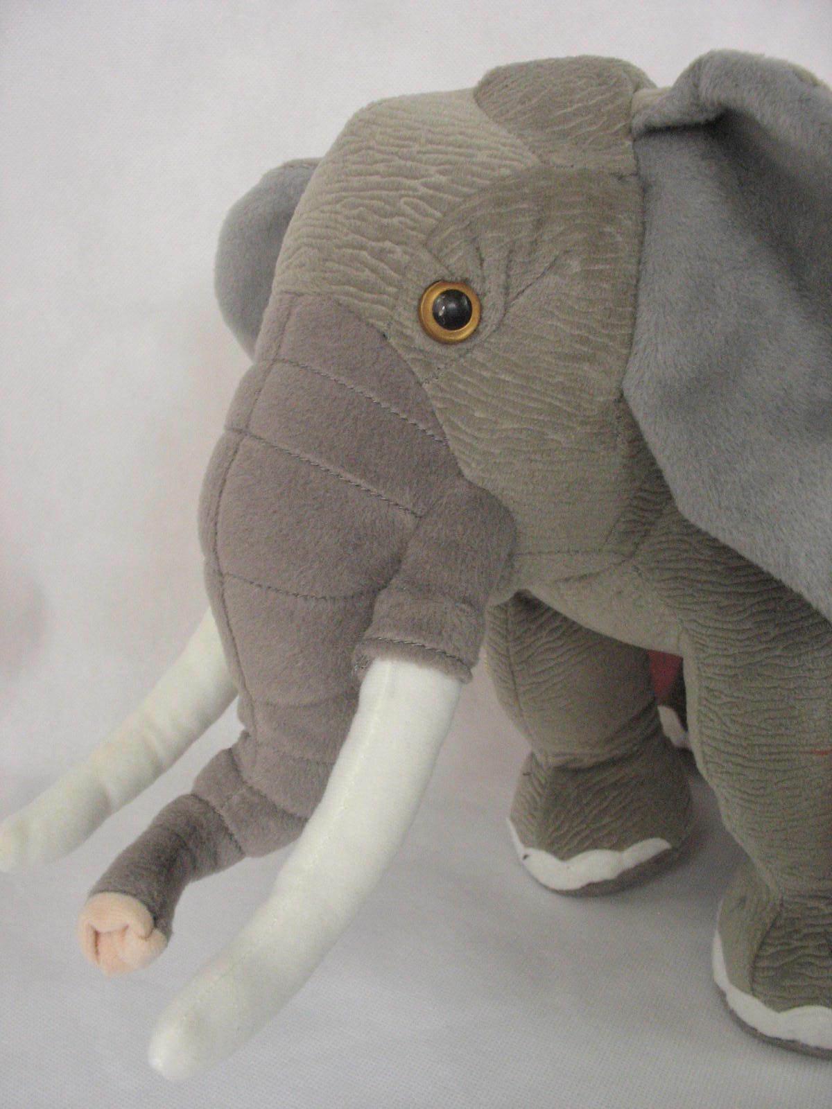Ringling Bros Barnum and Bailey 141st Edition Circus Elephant Stuffed Plush image 2