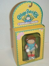 "Vintage Cabbage Patch ""Mark Barth"" Baseball Player Poseable Figure 1984 2nd NEW - $10.89"