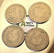 Liberty Head Nickel Five-Cent Pieces 1906 - 1909 AA20-CNN2137 Antique image 10