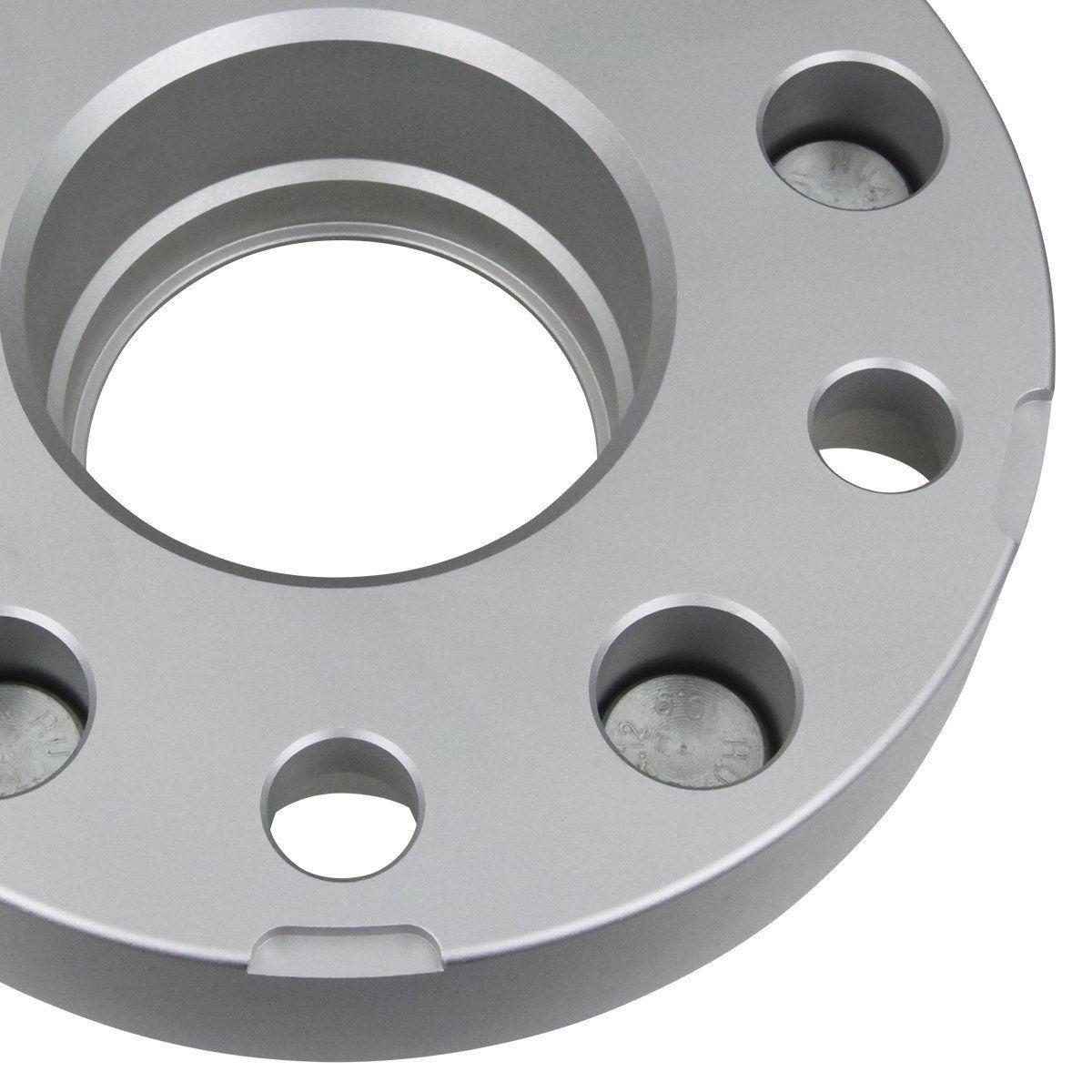 """SRT-10 02-11 Hub Centric Blk 1.5/"""" Wheel Spacers Complete 4 Set Dodge Ram 1500"""