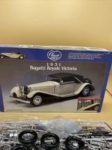MODEL KIT- LINDBERG 6602-1/24 1931 BUGATTI ROYALE VICTORIA Complete - $24.70