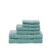 Luxury 6pc Super Soft Seafoam Cotton Bath Towel Set - $52.24