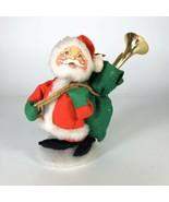 "Annalee Santa Clause Christmas Doll 7"" 1967 - $24.75"