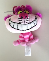 Disney Parks Cheshire Cat Big Head Plush Purse Hanger Keychain Key Chain NEW - $19.90
