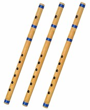 Bamboo Indian Bansuri/Flute Combo Of A+A+A Pipe - $23.01