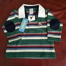 NWT Gymboree Striped Boys Bull Dog Tee Shirt Sz 6 12 Months - $9.50
