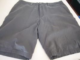 Quiksilver - Men's Dark Green Shorts -- Size 32 - $15.99