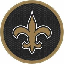 "New Orleans Saints NFL 8 ct 9"" Dinner Plates Paper - $4.25"