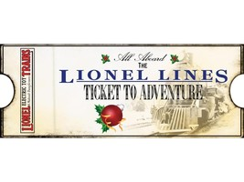 LIONEL 22051- LIONEL LINES TICKET ORNAMENT- NEW - $6.36