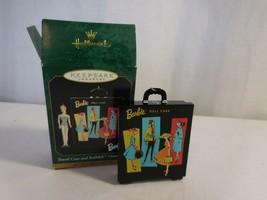 Hallmark Keepsake - Travel Case and Barbie Ornament - 1999  - $15.86