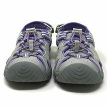 Brand New Khombu Kids Athletic Active Girls Purple Sandals image 5