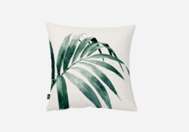 Watercolor Tropical Leaf Throw Pillow Cover - $401,06 MXN+