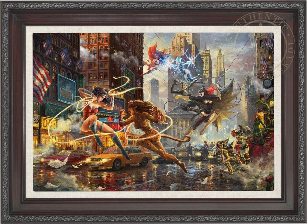 Thomas Kinkade Women of DC 18 x 27 LE G/P Canvas (Framed) DC Art