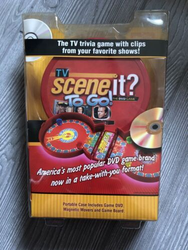 Primary image for Mattel Scene It To Go The DVD Game TV Show Trivia Travel New
