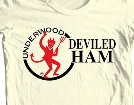 Underwood Deviled Ham T-shirt funny Family Guy Spam retro 80's 100% cotton tee image 1
