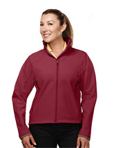 Tri-Mountain Ascent 6420 Poly Stretch Bonded Soft Shell Jacket - Cranber... - $48.65+