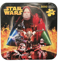 Hasbro STAR WARS 500-piece double-sided Jigsaw Puzzle in Collectible Tin... - $7.99